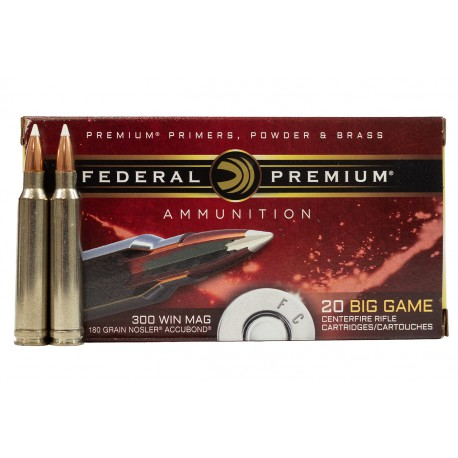 FEDERAL NOSLER ACCUBOND